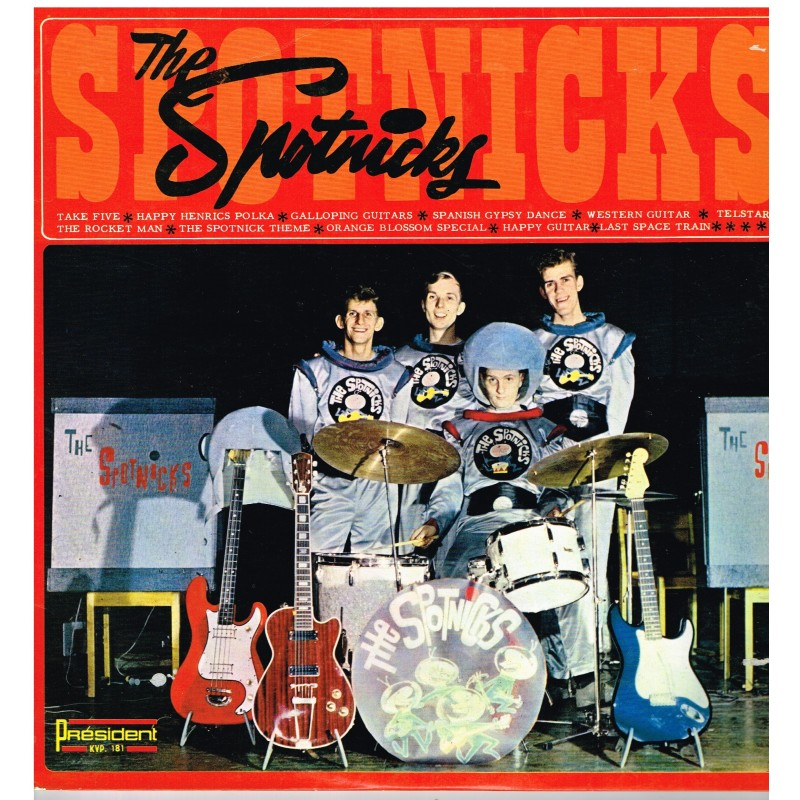 DISQUE 33 TOURS - THE SPOTNICKS - TAKE FIVE