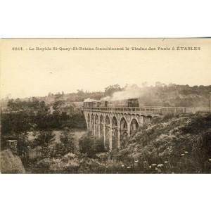 cp22-etables-le-rapide-st-quay-st-brieuc-franchissant-le-viaduc-des-ponts