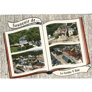 cp27-souvenir-dela-ferriere-sur-risle-multi-vues