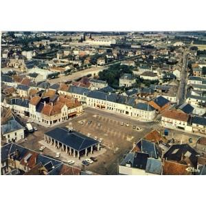 cp28-brou-vue-aerienne-place-des-halles
