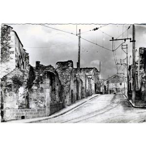 cp87-oradour-sur-glane-le-carrefour-du-cimetiere