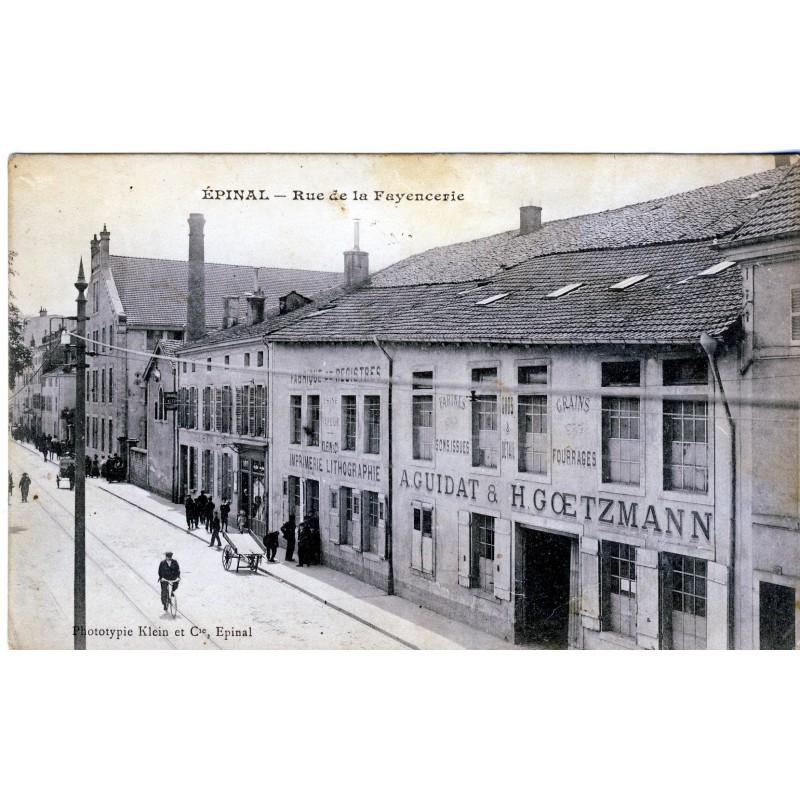 cp88-epinal-rue-de-la-fayencerie