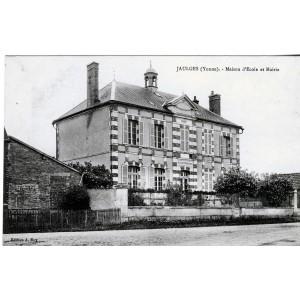 cp89-jaulges-maison-d-ecole-et-mairie
