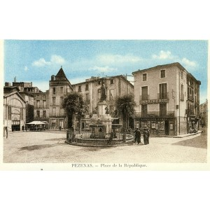 cp34-pezenas-place-de-la-republique