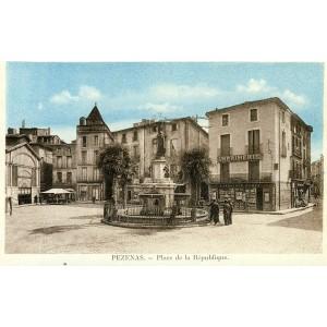 cp34-pezenas-place-de-la-republique