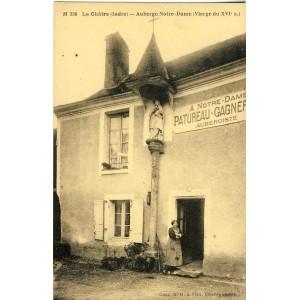 cp36-la-chatre-auberge-notre-dame-vierge-du-xvie-s