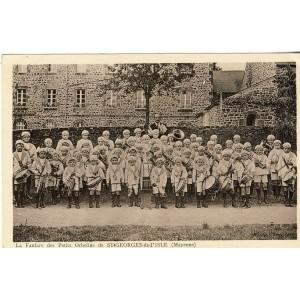 cp53-st-georges-de-l-isle-la-fanfare-des-petits-orphelins