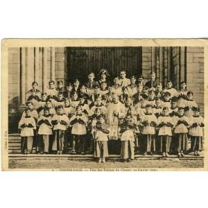 cp54-herserange-fete-des-enfants-de-choeur-19-janvier-1930