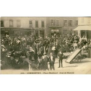 cp03-commentry-place-martenot-jour-de-marche