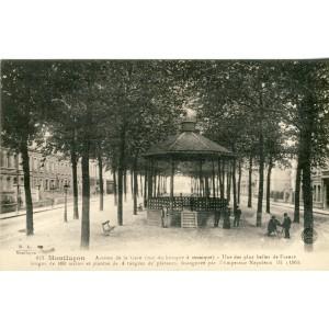 cp03-montlucon-avenue-de-la-gare-vue-du-kiosque-a-musique