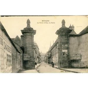 cp03-moulins-la-porte-et-rue-de-paris