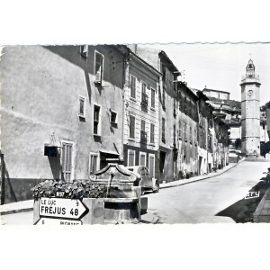 CP83 GONFARON - RUE DE L'HORLOGE