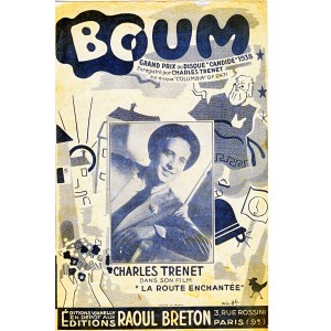 PARTITION DE CHARLES TRENET - BOUM