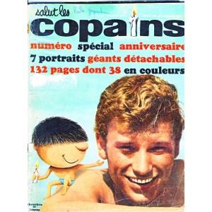 SALUT LES COPAINS N°12 JOHNNY HALLIDAY ET CHOUCHOU