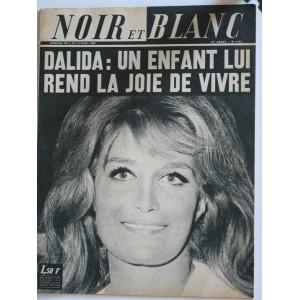 NOIR ET BLANC N° 1153 AVRIL 1967 DALIDA
