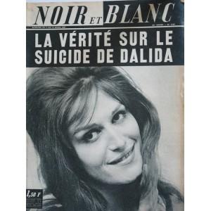 NOIR ET BLANC N° 1149  MARS 1967 DALIDA