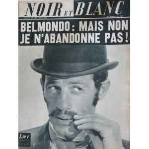 NOIR ET BLANC N° 1148  MARS 1967 BELMONDO