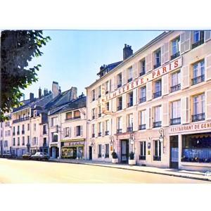 CP39 LONS LE SAUNIER - GRAND HOTEL DE GENEVE