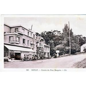 CP63 ROYAT - ENTREE DU PARC BARGOIN
