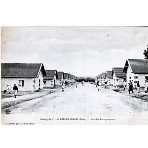 CP38 CHAMBARAND- CHAMP DE TIR - VUE DES BARAQUEMENTS