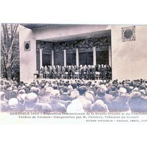 CP38 GRENOBLE 1925 - EXPOSITION INTERNATIONALE DE LA HOUILLE BLANCHE ET DU TOURISME