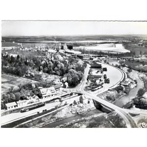 CP57 SARRALBE - LE PONT SUR LE CANAL ET LA SARRE