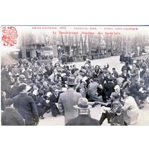 CP13 AIX EN PROVENCE 1933 - CARNAVAL XXXX - CORSO CARNAVALESQUE