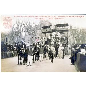 CP13 AIX EN PROVENCE 1933 - CARNAVAL XXXI - CORSO CARNAVALESQUE