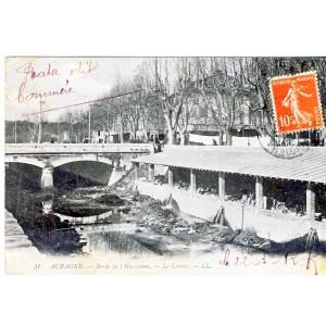 CP13 AUBAGNE - BORDS DE L'HUVEAUNE - LE LAVOIR