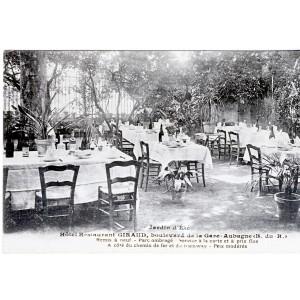 CP13 AUBAGNE - HOTEL RESTAURANT GIRAUD