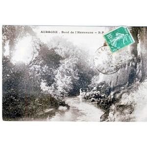 CP13 AUBAGNE - BORD DE L'HUVEAUNE