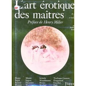 LIVRE - L'ART EROTIQUE DES MAITRES