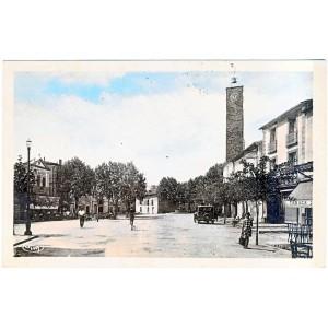 CP34 ST ANDRE DE SANGONIS - VUE GENERALE DE LA PLACE