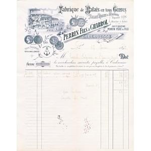 FACTURE  FABRIQUE DE BALAIS EN TOUS GENRES CADEROUSSE