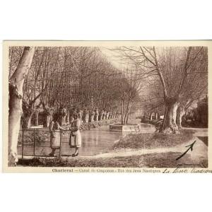 CP13 CHARLEVAL - CANAL DE CRAPONNE - ILOT DES JEUX NAUTIQUES
