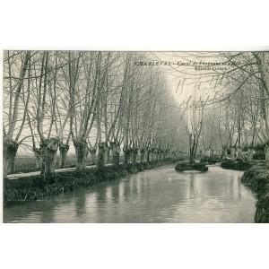 CP13 CHARLEVAL - CANAL DE CRAPONNE ET L' ILOT