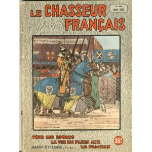 REVUE LE CHASSEUR FRANCAIS N° 662 - AVRIL 1952