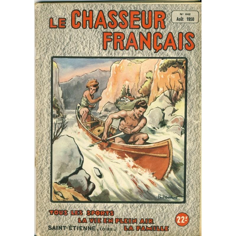 REVUE LE CHASSEUR FRANCAIS N° 642 - AOUT 1950