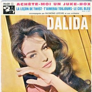 DISQUE 45 TOURS DALIDA - ACHETE-MOI UN JUKE-BOX