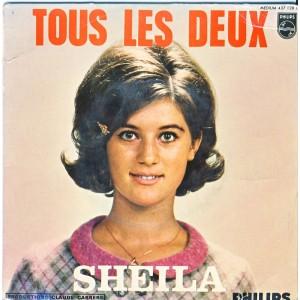 DISQUE 45 TOURS SHEILA 10ème - TOUS LES DEUX