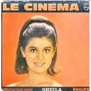 DISQUE 45 TOURS SHEILA 11ème - LE CINEMA