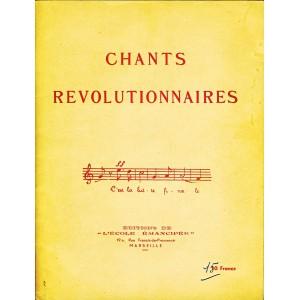 LIVRE DE CHANTS REVOLUTIONNAIRES