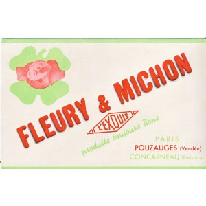 BUVARD FLEURY & MICHON - L'EXQUIS