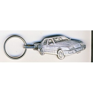 PORTE CLES FORD VOITURE METAL DECOUPE
