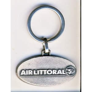 PORTE CLES AVIATION AIR LITTORAL - METAL