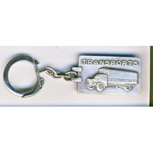 PORTE CLES TRANSPORTS ET MESSAGERIES ALENCON - METAL