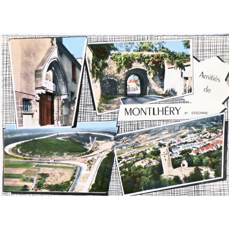 CP91 MONTLHERY - AMITIES MULTIVUES