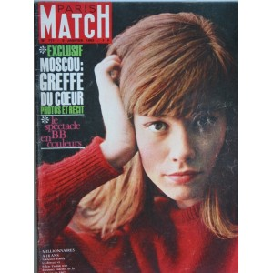 PARIS MATCH N° 717 - FRANCOISE HARDY