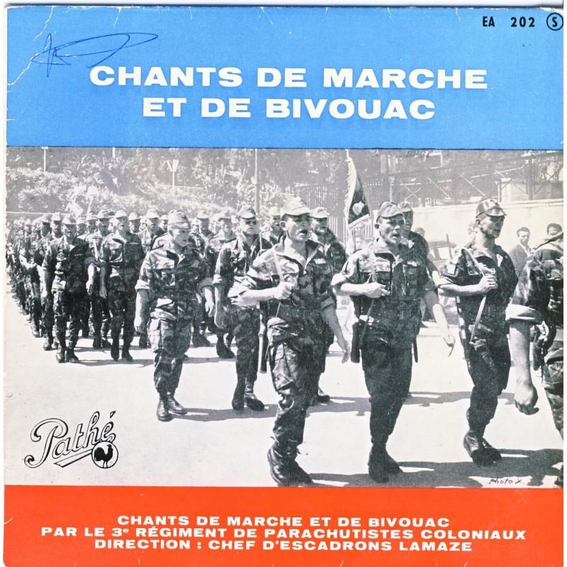 DISQUE 45 TOURS - CHANTS DE MARCHE ET DE BIVOUAC