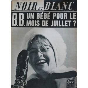 NOIR ET BLANC N° 1144 - UN BEBE POUR  B.B.